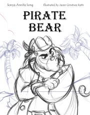 Cover Pirate Bear Algerian Font Front