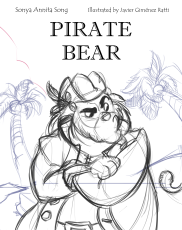 Cover Pirate Bear Imprint MT Font Cover