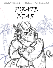 Cover Pirate Bear Viner Font Front